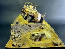 """Sd.Kfz.250 """"Greif"""" model wykonany przez JaCkyL"""