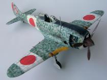 Ki-44 Shoki z GPM model wykonany przez QŃ