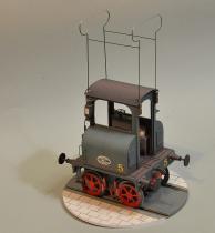 Siemens - lokomotywa elektryczna.