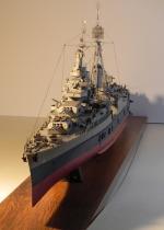 USS Indianapolis - 1:200 - cz.I Prezentacji - Modelik   model wykonany przez Winek