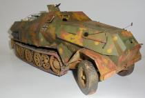 Sd.Kfz.8 db10 Gepanzerte 12t /GPM/ 1:25  model wykonany przez kordian