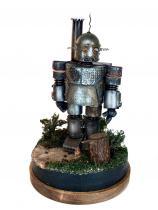Model kartonowy robot Ebenezer mk1